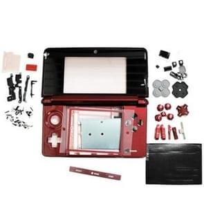 Replacement Full Housing Case for Nintendo 3DS (Red)
