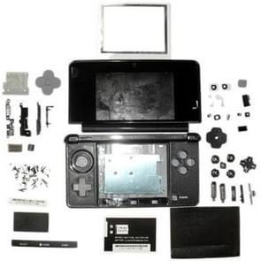 Full Housing Case for Nintendo 3DS(Black)