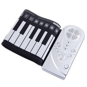 Portable Roll-up 49-Key Soft Keyboard Piano