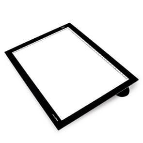 Huion L4S USB Portable 17.7 inch Ultra Slim Adjustable Brightness Art Craft Tattoo Tracing Light Box Pad Board
