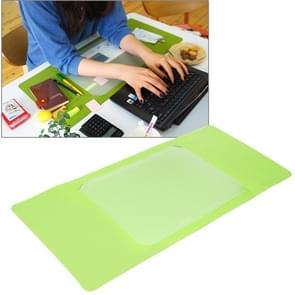 Multi-Functional Office / Home Desk Table Keyboard Mat(Green)