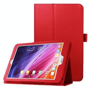 Litchi Texture Horizontal Flip Leather Case with Holder for Acer Iconia One 8 B1-820(Red)