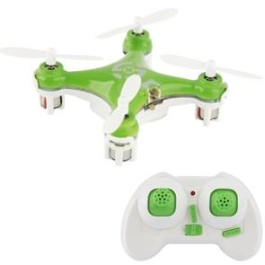 CX-10 4 Channel 2.4GHz 6-Axis Gyro Mini Quadcopter RC Helicopter with Transmitter, Suit for Over Age 14(Green)