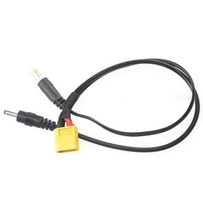 XT60 to 3.5mm / 5.5mm DC Wire for Power Supply / Receiver / Monitor FPV(Black)