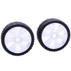 2 PCS High Performance 1 / 8 Rally Car Wheel Rim and Tire 180031 for Traxxas HSP Tamiya HPI Kyosho RC Car
