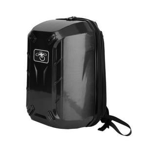 Carbon Fiber Texture Hard Shell Shoulder Carrying Case Backpack for DJI Phantom 3 Quadcopter(Black)