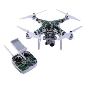 Water Resistance PVC Decal Skin Sticker for DJI Phantom 3 Quadcopter & Remote Controller