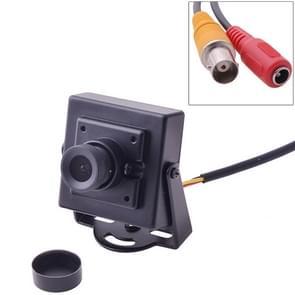 Mini HD 700TVL 1/3 inch 3.6mm Lens CCTV Security Video FPV Color Camera, NTSC System