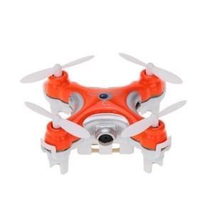 CX-10C Mini 4-Channel 2.4GHz Remote Control Quadcopter with 6-axis Gyro & 0.3MP Camera & Light(Orange)