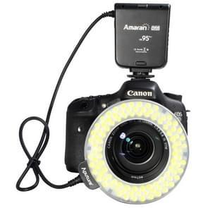 Aputure AHL-HC100 Higher CRI 95+ Value Amaran Halo LED Ring Flash Light for Canon