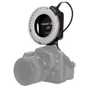 Aputure AHL-HN100 Higher CRI 95+ Value Amaran Halo LED Ring Flash Light for Nikon