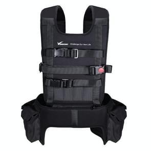 VDS-2 Shoulder Backpack Carry Case Multipurpose Bag Neck Strap Belt for UAV, Carry Available for Quadcopter, Remote Controller, Battery, Propellers(Black)