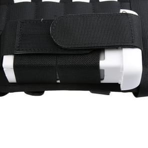DJI Shoulder Backpack Carry Case Multipurpose Bag Neck Strap Belt for Dji Phantom 3 / 2 / 1 / Vision+, Carry Available for Quadcopter, Remote Controller, Battery, Propellers(Black)