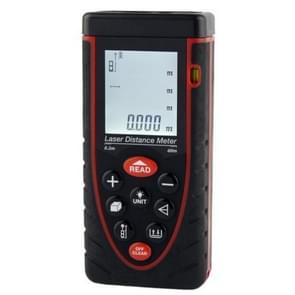 1.9 inch LCD 60m Hand-held Laser Distance Meter with Level Bubble (RZ60)