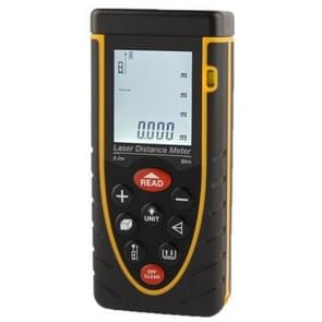 1.9 inch LCD 80m Hand-held Laser Distance Meter with Level Bubble (RZ80)
