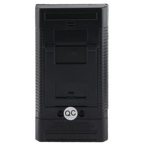 Electromagnetic Radiation Detector EMF Meter Tester(Black)