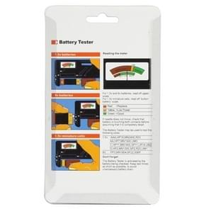 Universal Battery Tester for 1.5V AAA, AA and 9V 6F22 Batteries