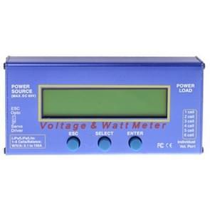 LiPo/LiFe Akku Checker + Servo Tester + Wattmeter + balancer