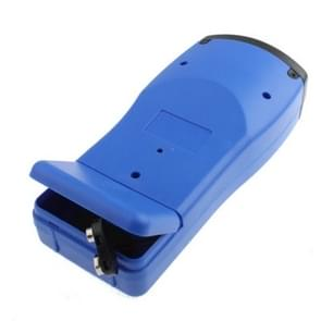 Ultrasonic Laser Point LED Distance Measure Meter Tool(Blue)