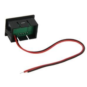 V33D 2 Wires rood licht Display Mini Digital Voltage Meter, Measure Voltage: DC 4.5-120V
