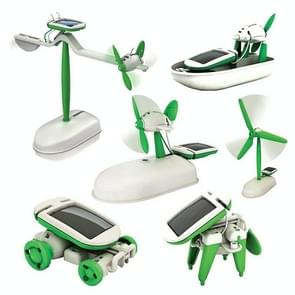 6 in 1 Educational Solar Robot Kit