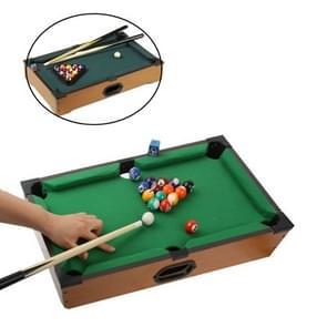 Tabletop Miniature Pool Table Billiards Games(Yellow)