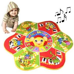 Funny Flower Style Electric Music Toy for Kids, Size: 70 x 70cm