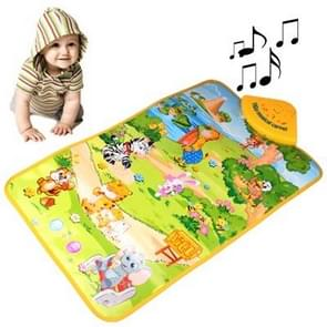 Funny Forest Style Electric Music Toy for Kids, Size: 60 x 40cm