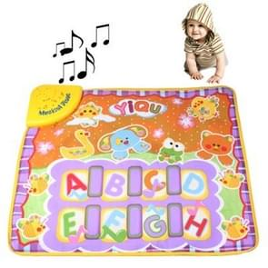 Funny Kick & Play Electric Music Toy for Kids, Size: 57 x 48cm(Black)