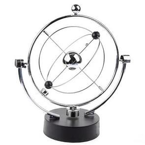 Magnetic Balance Kinetic Orbital Desk Decoration(Silver)