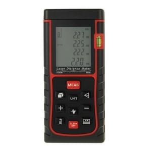 RZ-E60 Digital Handheld Laser Distance Meter, Max Measuring Distance: 60m(Red)