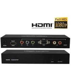 HDMI to YPbPr / VGA Multi-media Switcher
