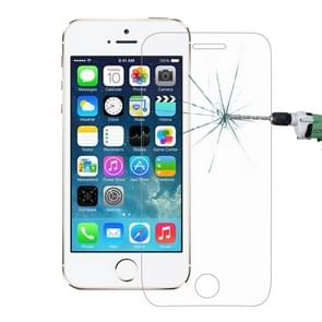 For iPhone SE & 5 & 5S & 5C 0.26mm 9H Surface Hardness 2.5D Explosion-proof Tempered Glass Film