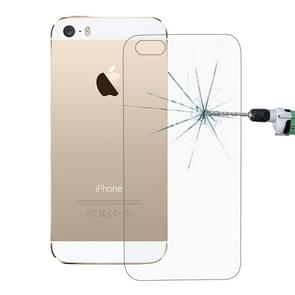 10 PCS for iPhone SE & 5 & 5S 0.26mm 9H Surface Hardness 2.5D Explosion-proof Back Tempered Glass Film