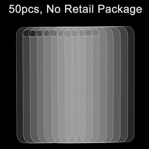 50 PCS for iPhone SE & 5 & 5S 0.26mm 9H Surface Hardness 2.5D Explosion-proof Back Tempered Glass Film, No Retail Package