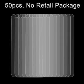 50 PCS for iPhone 6 0.26mm 9H Surface Hardness 2.5D Explosion-proof Back Tempered Glass Film, No Retail Package