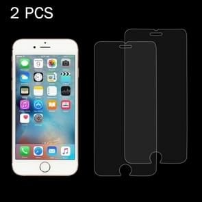 2 PCS for iPhone 6 Plus & 6s Plus 0.26mm 9H Surface Hardness 2.5D Explosion-proof Tempered Glass Screen Film