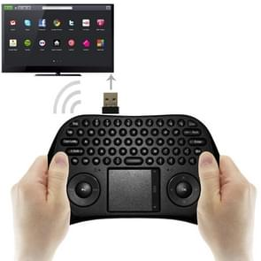 MEASY GP800 Wireless Keyboard Smart Remote Air Mouse for TV BOX /  Laptop / Tablet PC / Mini PC(Black)