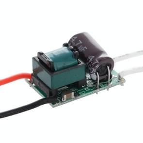 LED Driver voor (4-5)W x 1 LED licht Lamp, Input Voltage: AC 90-240V, Output Voltage: 12-18V