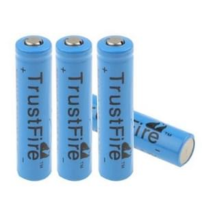 TrustFire TR 10440 600mAh 3.7V Long Lasting Rechargeable Lithium ion Battery (4pcs in one packaging, the price is for 4pcs)