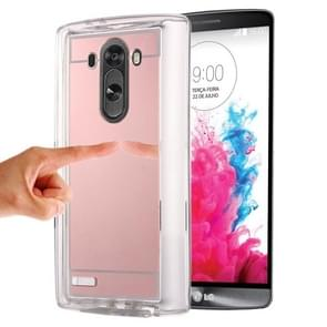 Mirror TPU Protective Case for LG G3 / D855(Rose Gold)