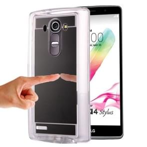 Mirror TPU Protective Case for LG G4 / H815(Black)