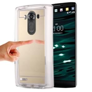 Mirror TPU Protective Case for LG V10(Gold)