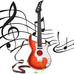 Plastic Mini 4 Steel Strings Music Guitar Toy for Kids