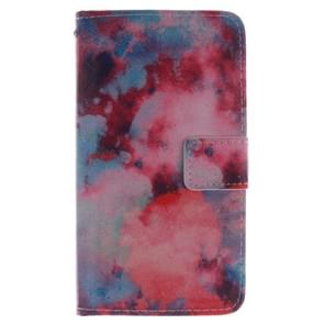 PColor Clouds attern Horizontal Flip Leather Case with Holder & Card Slots & Wallet for Wiko Wax