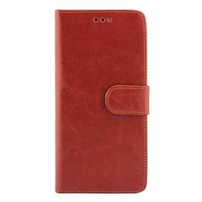 Crazy Horse Texture Horizontal Flip Leather Case with Holder & Card Slots & Wallet & Photo Frame for Google Nexus 6P(Brown)