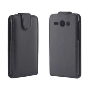 Vertical Flip Leather Case for Huawei Ascend Y530 / C8813(Black)