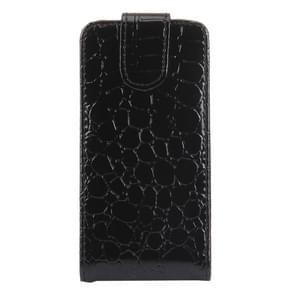 Crocodile Texture Vertical Flip Leather Case for LG Optiums / P970(Black)