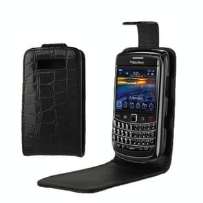 High Quality Crocodile Texture Vertical Flip Leather Case for BlackBerry 9700