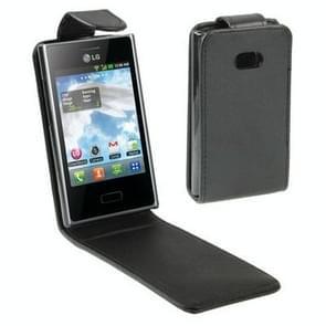 Vertical Flip Holster for LG E400 / Optimus L3 (Black)